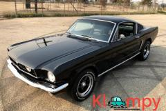 1965 Ford Mustang Fastback Modified C4 Raven Black