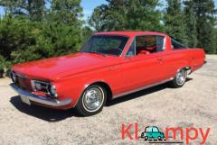 1964 Plymouth Barracuda Red 3-Speed
