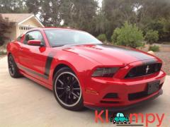 2013 Ford Mustang Boss 302 Race Red