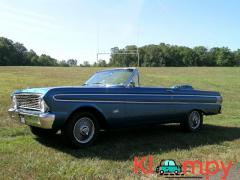 1964 Ford Falcon Convertible Arcadian Blue