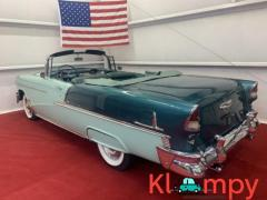 1955 Chevrolet Bel Air Powered White Soft Top