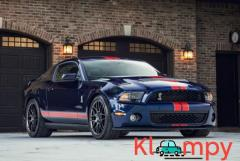 2012 Ford Shelby Mustang GT500 Kona Blue