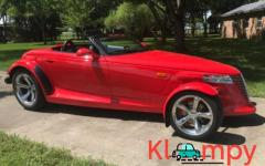 1999 Plymouth Prowler with Matching Trailer