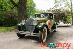1929 Packard Eight Convertible Coupe Tan Soft Top