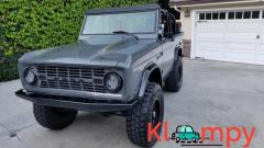 1968 Ford Bronco Modified Lead Foot Gray