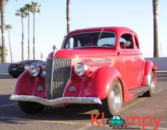 1936 Ford 5 Window '80s Hot Rod