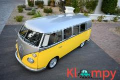 1965 Volkswagen Bus Modified Silver/Yellow