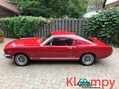 1965 Ford Mustang GT Fastback Rangoon Red