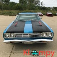 1969 Plymouth Road Runner Power