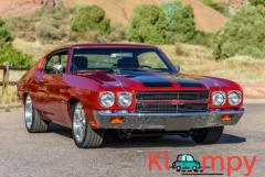 1970 Chevrolet Chevelle Coupe 5-Speed LSA-Powered