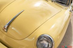 1965 Porsche 356C Coupe Champagne Yellow - Image 20/21