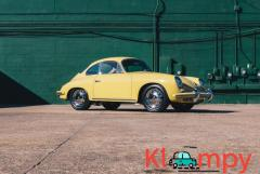 1965 Porsche 356C Coupe Champagne Yellow - Image 1/21