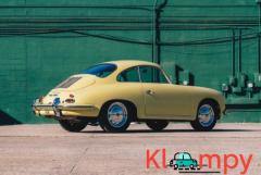 1965 Porsche 356C Coupe Champagne Yellow - Image 3/21
