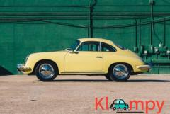 1965 Porsche 356C Coupe Champagne Yellow - Image 4/21