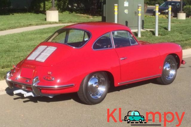 1963 Porsche 356B Coupe Ruby Red - 3/15