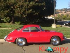 1963 Porsche 356B Coupe Ruby Red - Image 4/15