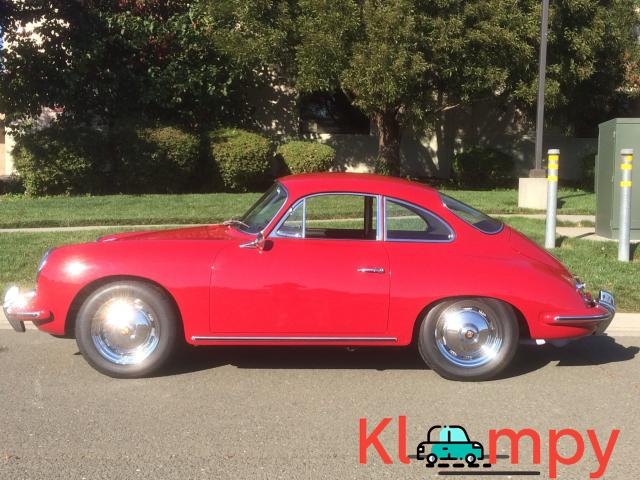 1963 Porsche 356B Coupe Ruby Red - 8/15