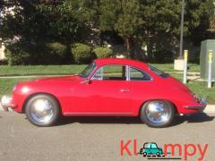 1963 Porsche 356B Coupe Ruby Red - Image 8/15