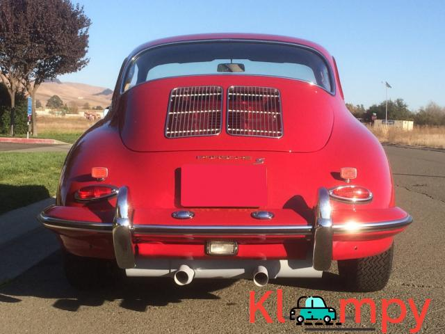 1963 Porsche 356B Coupe Ruby Red - 9/15