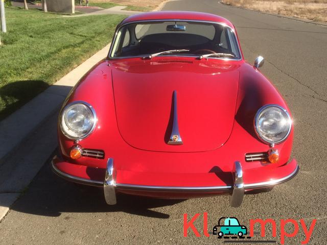1963 Porsche 356B Coupe Ruby Red - 12/15