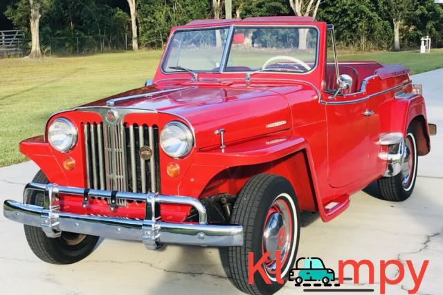 1949 Willys-Overland Jeepster Tunisian Red - 1/12