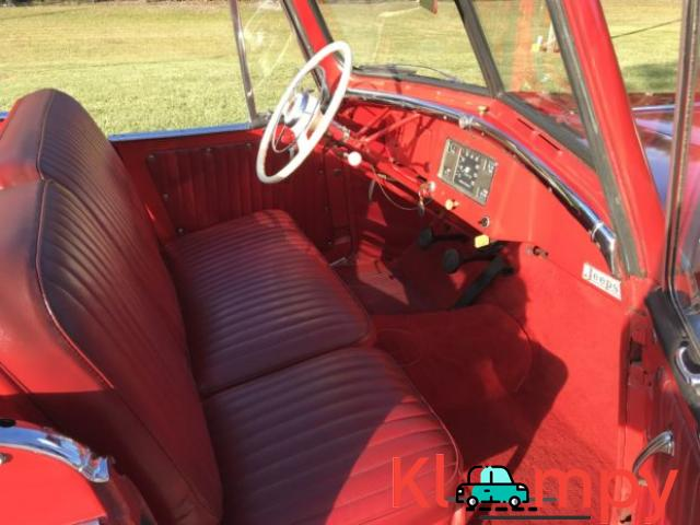 1949 Willys-Overland Jeepster Tunisian Red - 4/12