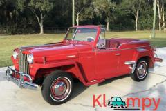 1949 Willys-Overland Jeepster Tunisian Red - Image 8/12
