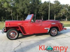 1949 Willys-Overland Jeepster Tunisian Red - Image 9/12