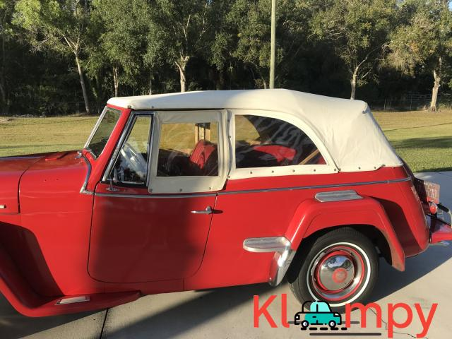 1949 Willys-Overland Jeepster Tunisian Red - 11/12