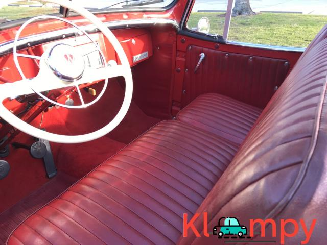 1949 Willys-Overland Jeepster Tunisian Red - 12/12