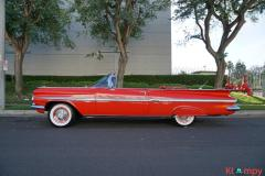 1959 Chevrolet Impala Convertible Roman Red - Image 13/24