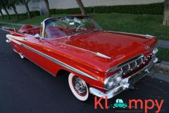 1959 Chevrolet Impala Convertible Roman Red - Image 1/24