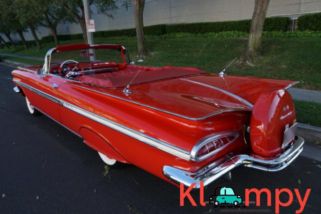 1959 Chevrolet Impala Convertible Roman Red - 2/24