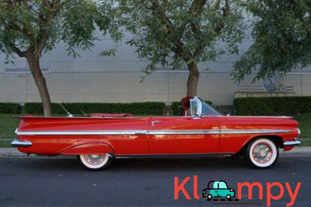 1959 Chevrolet Impala Convertible Roman Red - 3/24