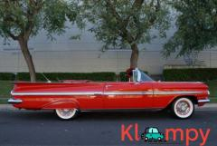 1959 Chevrolet Impala Convertible Roman Red - Image 3/24