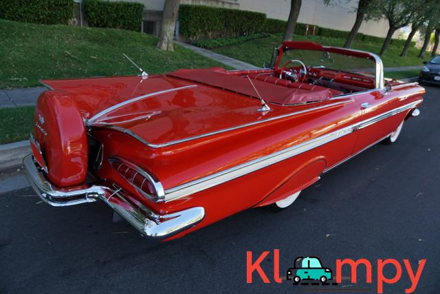 1959 Chevrolet Impala Convertible Roman Red - 9/24