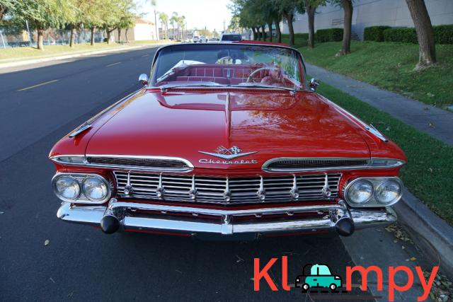 1959 Chevrolet Impala Convertible Roman Red - 10/24