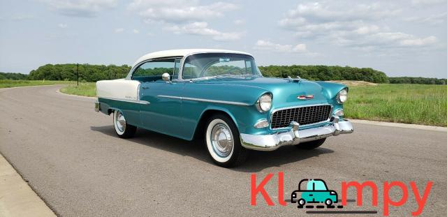 1955 Chevrolet Bel Air 150 210 Coupe - 4/14