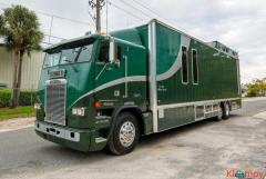 1993 Freightliner Cummins N14 3-Car Enclosed Hauler