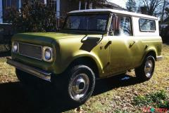 1962 International Harvester Scout 80 283-Powered