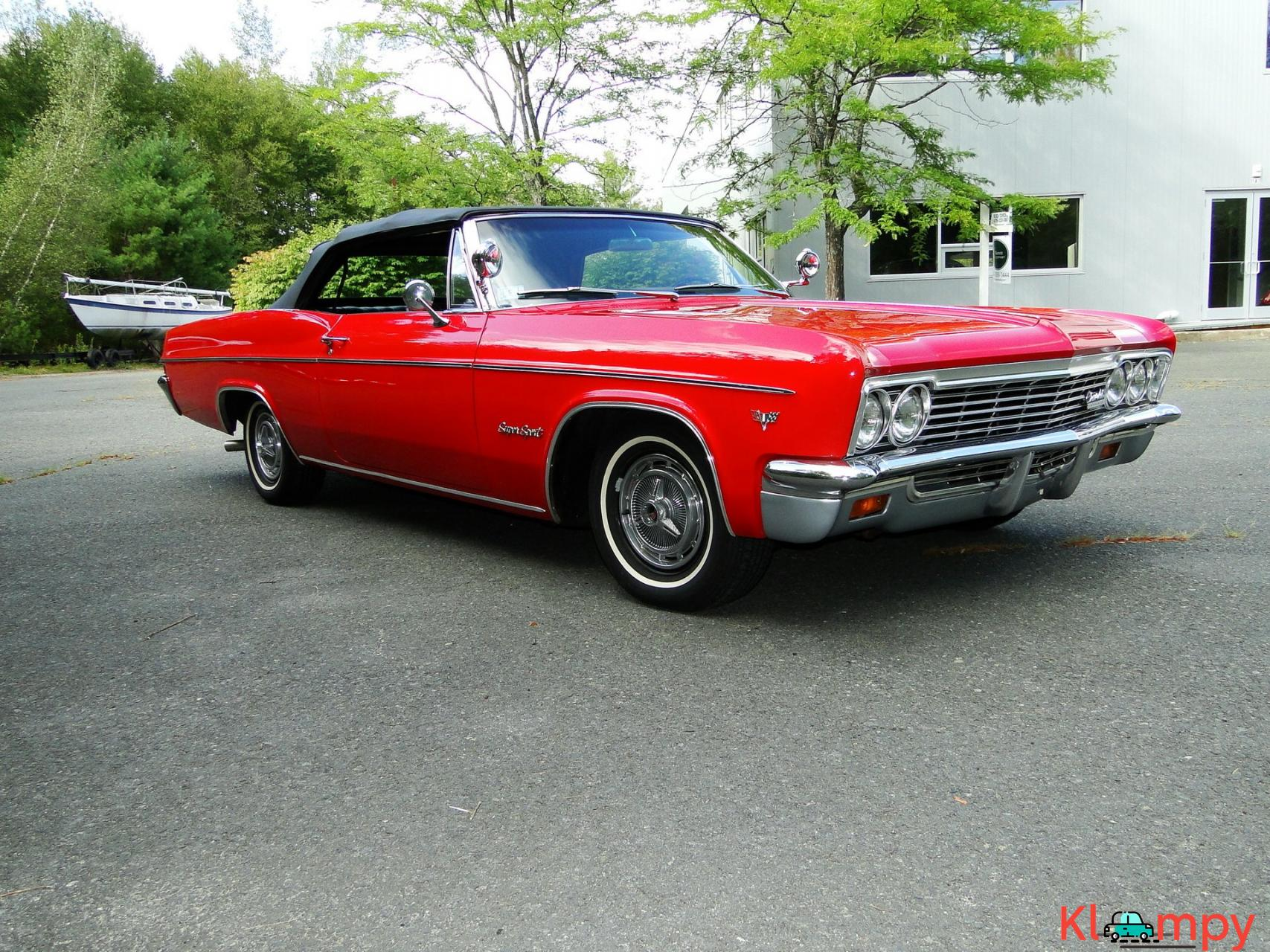 1966 Chevrolet Impala SS Convertible Regal Red V8 - 1/23