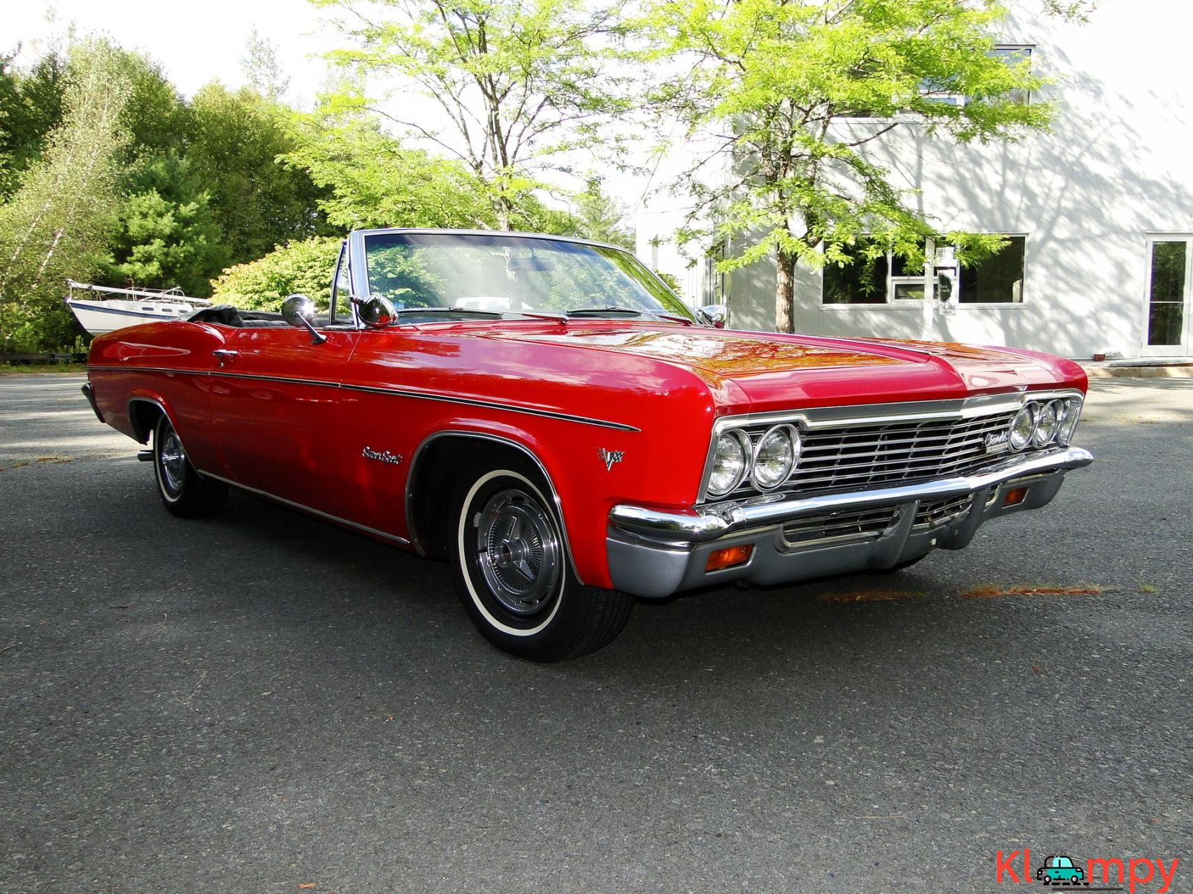 1966 Chevrolet Impala SS Convertible Regal Red V8 - 2/23