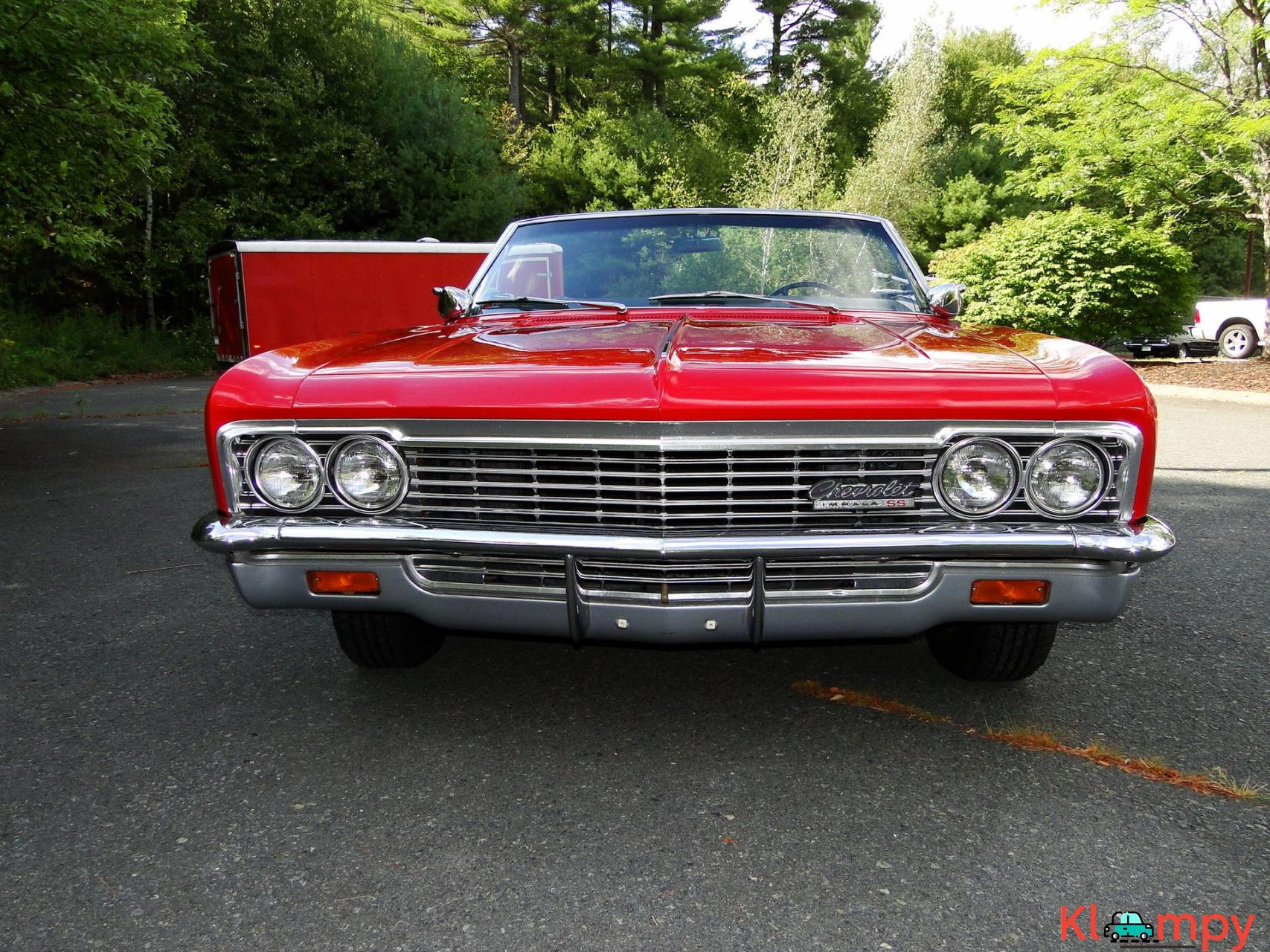 1966 Chevrolet Impala SS Convertible Regal Red V8 - 3/23