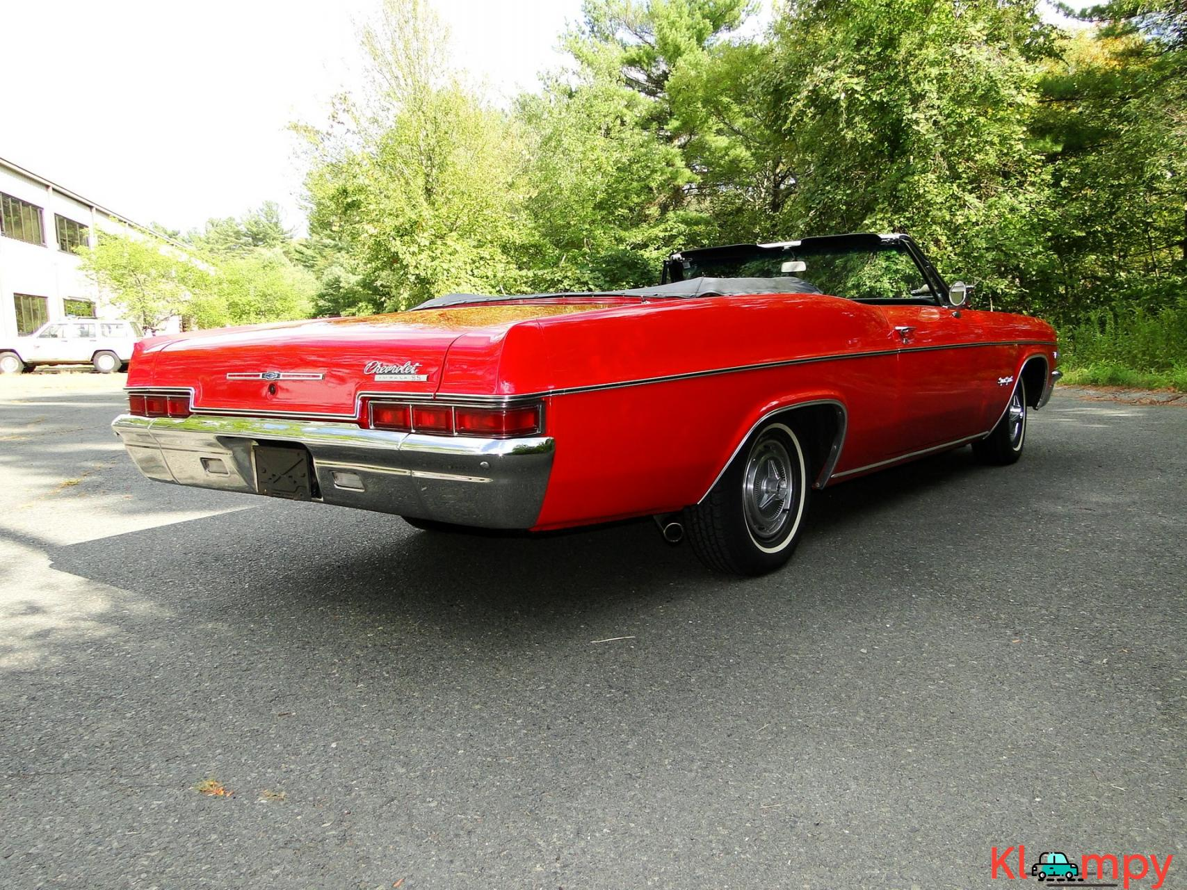 1966 Chevrolet Impala SS Convertible Regal Red V8 - 6/23