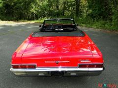 1966 Chevrolet Impala SS Convertible Regal Red V8 - Image 8/23