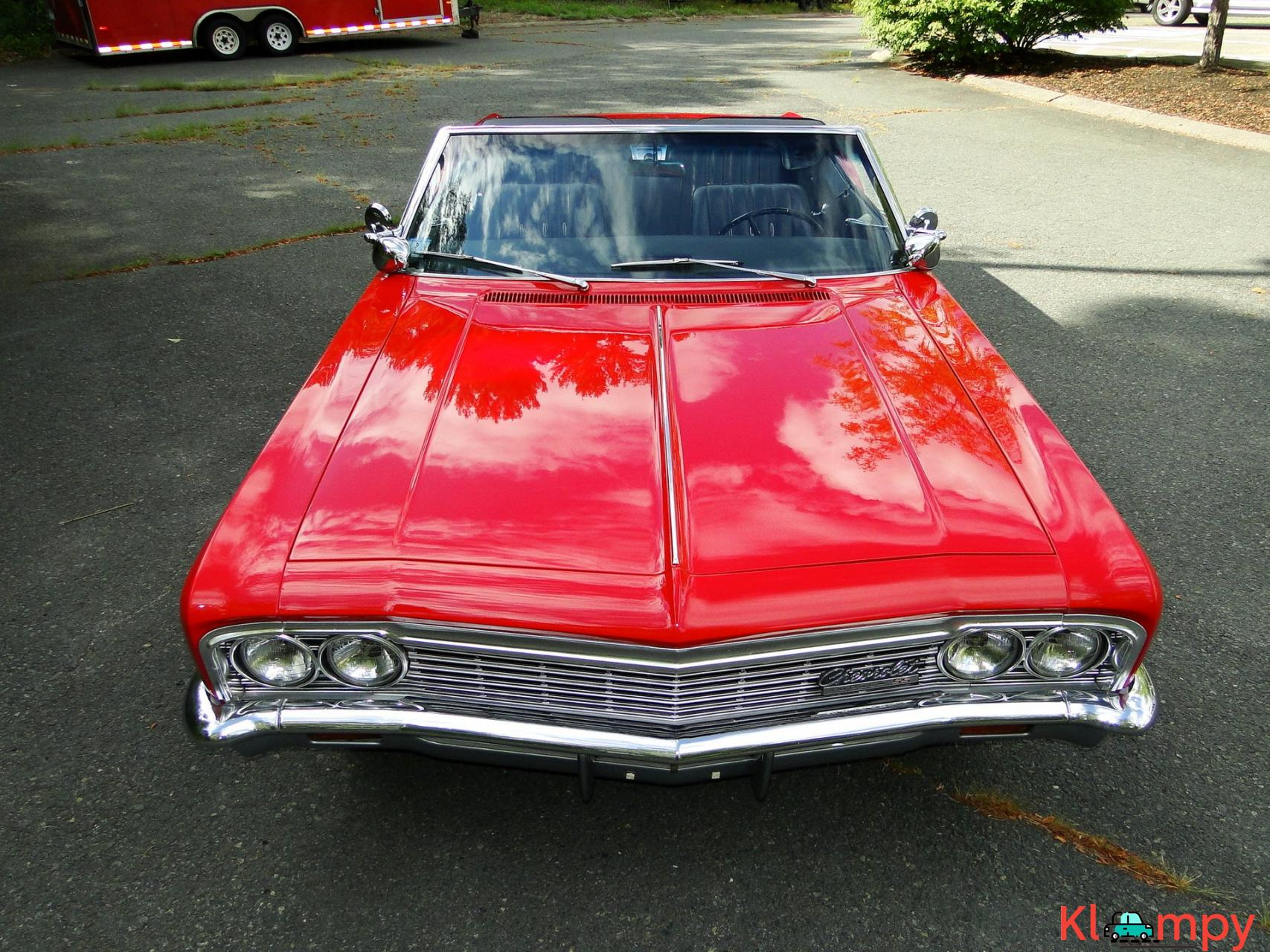 1966 Chevrolet Impala SS Convertible Regal Red V8 - 9/23