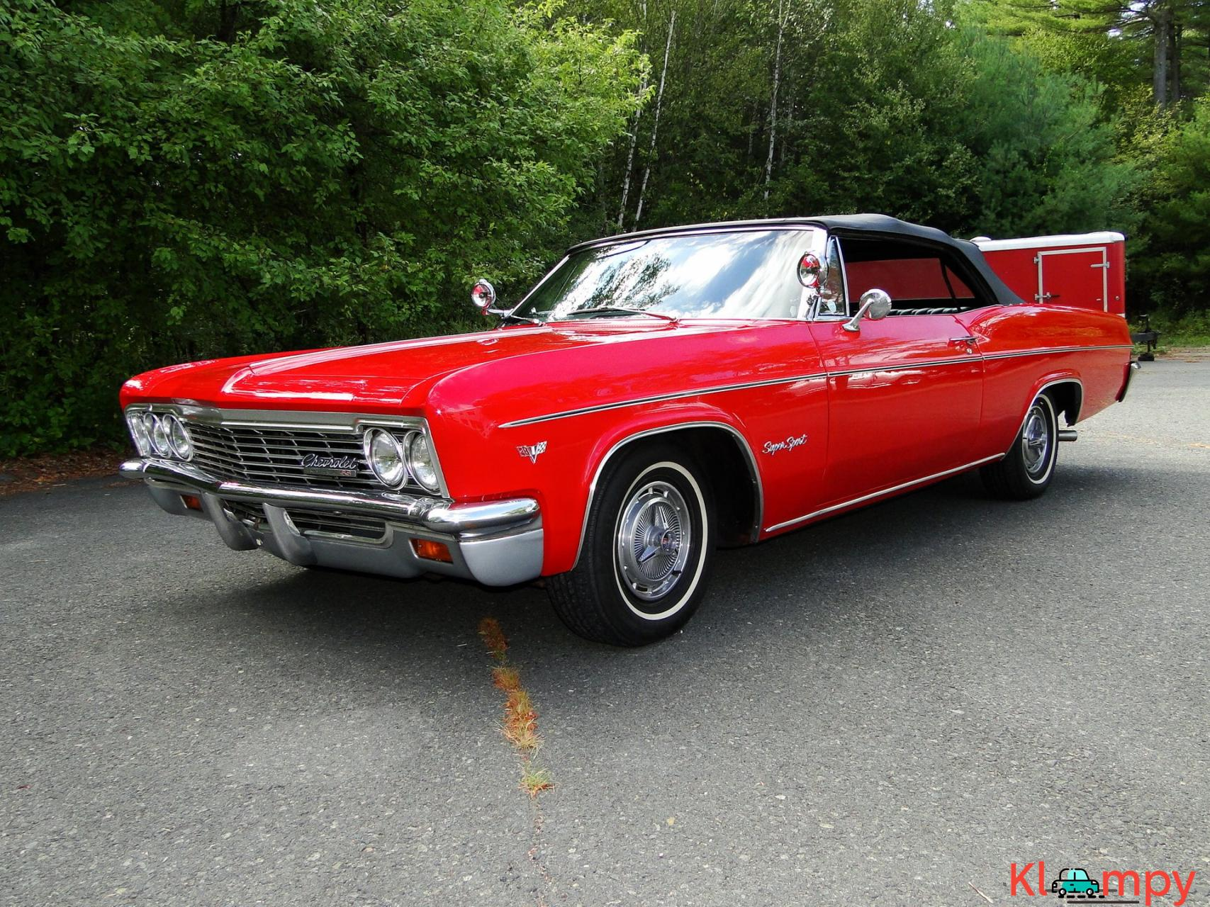 1966 Chevrolet Impala SS Convertible Regal Red V8 - 10/23