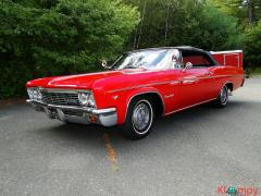 1966 Chevrolet Impala SS Convertible Regal Red V8 - Image 10/23