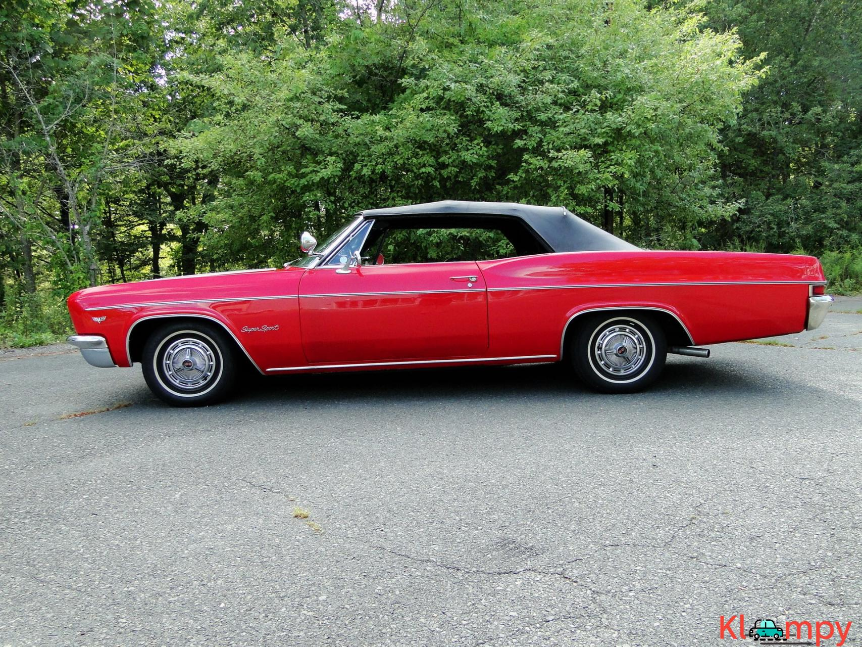 1966 Chevrolet Impala SS Convertible Regal Red V8 - 11/23