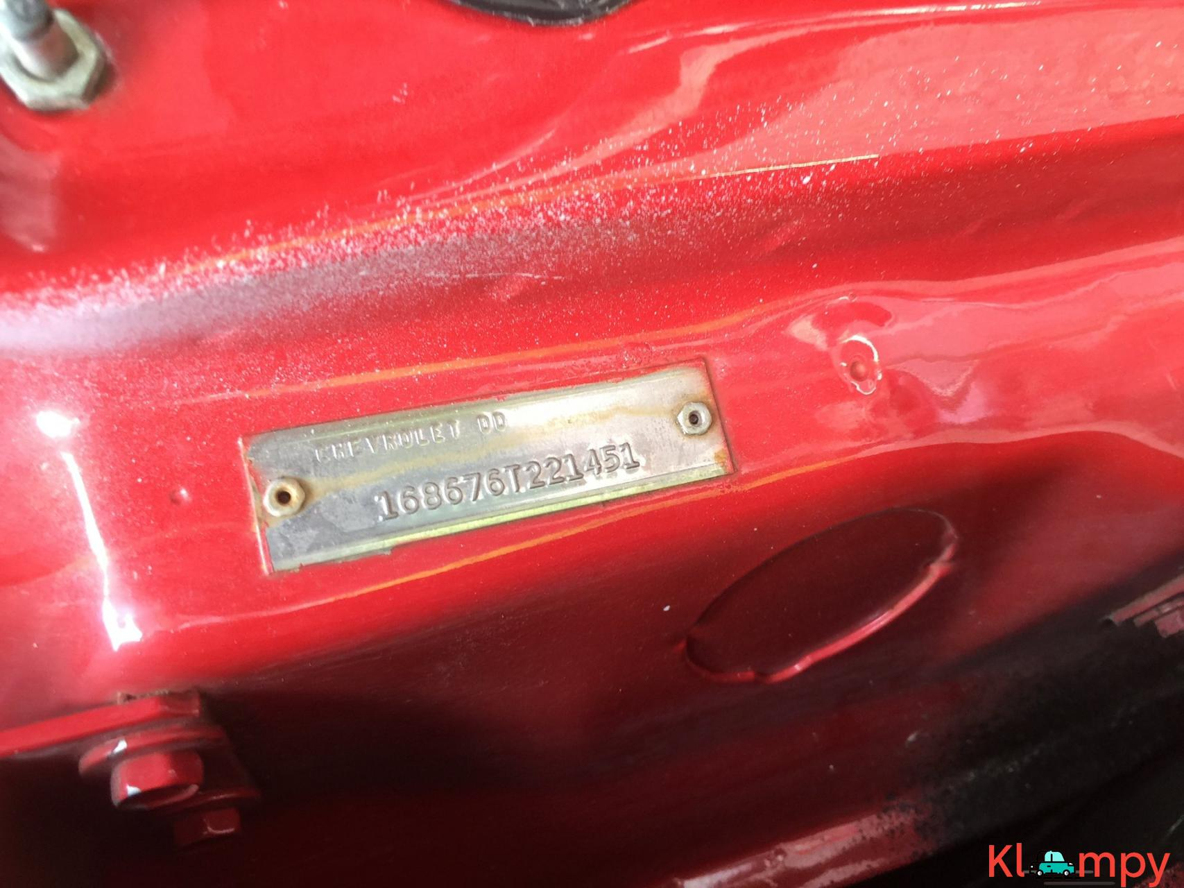 1966 Chevrolet Impala SS Convertible Regal Red V8 - 17/23